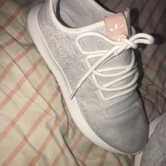 Adidas Tubular Shadow !! Grey, white, pink!!